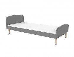 Łóżko dziecięce Flexa Play szare 200cm