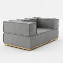 Sofa 150x90x67cm Noi Natural Absynth