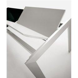 Matrix Stół Rozkładany ze Szklanym Blatem 1300x860 Pedrali