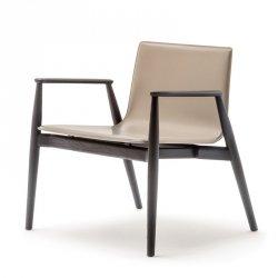 Fotel Drewniany Tapicerowany Malmo 297 Pedral