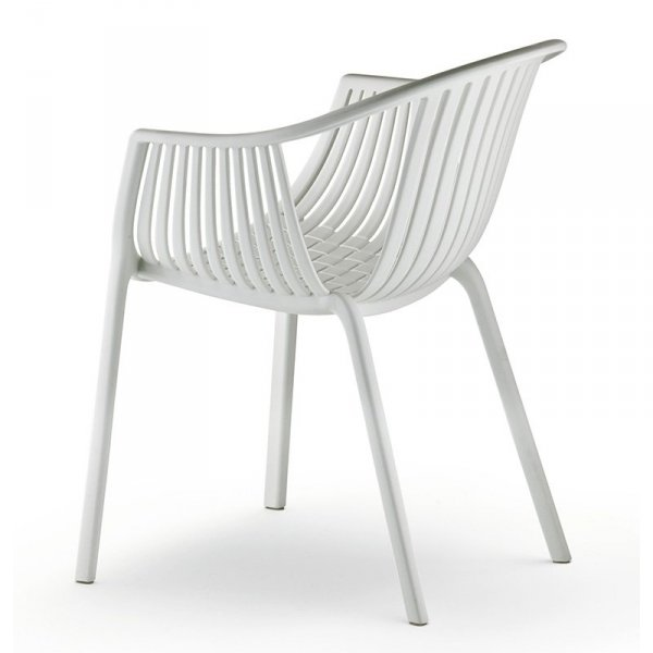 Krzesła do nowoczesnych wnętrz Tatami 306 Pedrali Białe