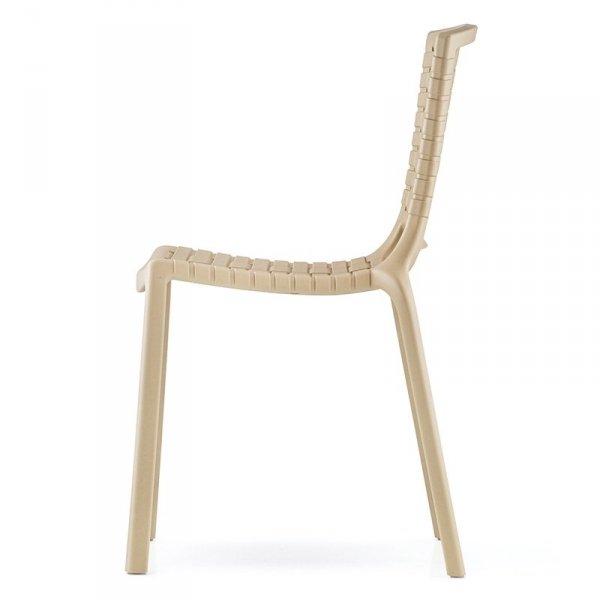Nowoczesne krzesło do kuchni i jadalni z tworzywa Tatami 305 Pedrali
