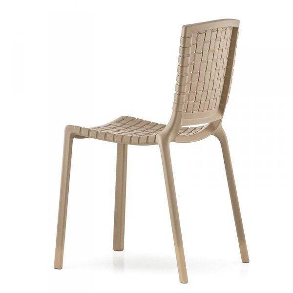 Designerskie krzesło ogrodowe Tatami 305 Pedrali