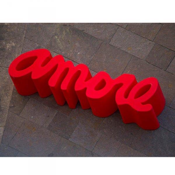 Ławka Amore Bench podświetlana LED 143x38x45