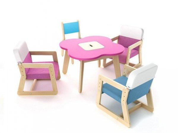 Stolik Play ze schowkiem z serii Simple Timoore