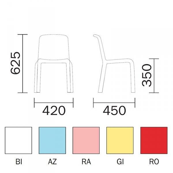 Snow Junior 303 krzesło dziecięce