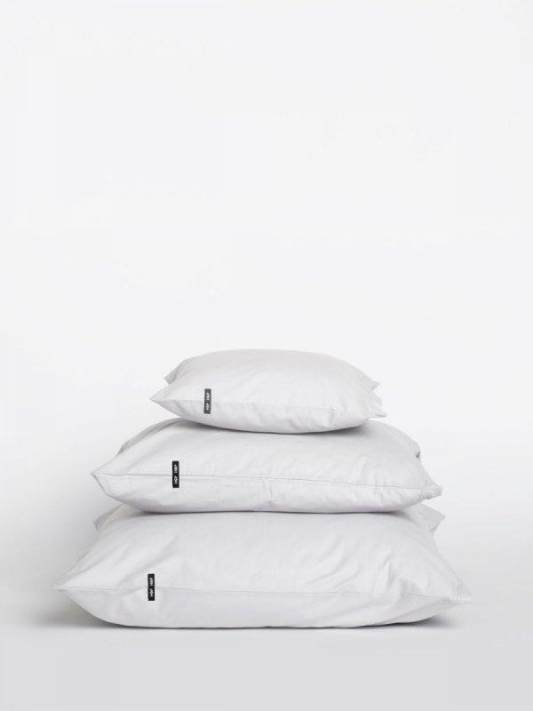 Poszwa bawełniana na poduszki PURE 2 szt. - biały