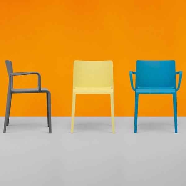 Stylowe krzesła do nowoczesnych wnętrz Pedrali Volt 675