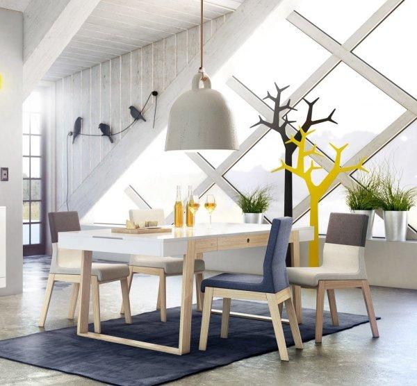 Funkcjonalny stół Magh idealny do spotkań rodzinnych