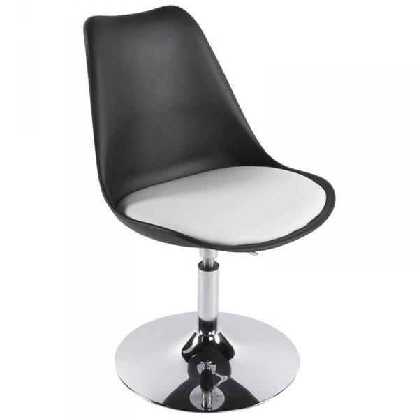 Victoria stylowe krzesło czarne