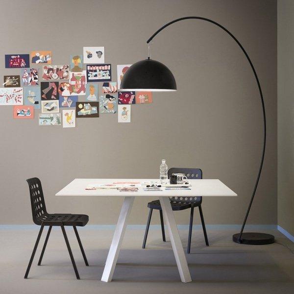 Nowoczesne krzesła o lekkiej, aluminiowej ramie, Koi-Booki Pedrali