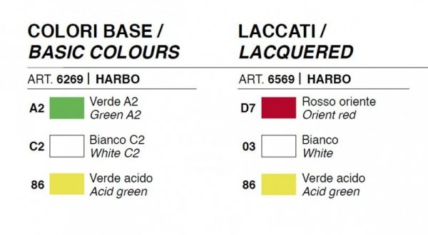 Harbo Lacquered