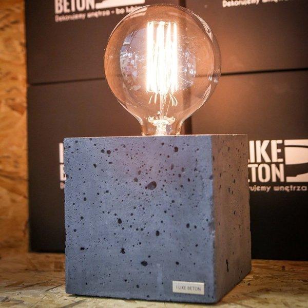Stylowa lampka Edison Cube