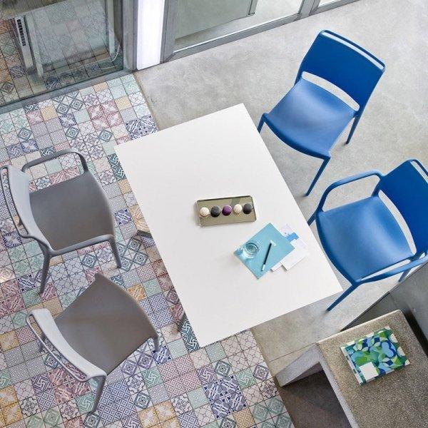 Krzesła do stylowych wnętrz Pedrali Ara 310