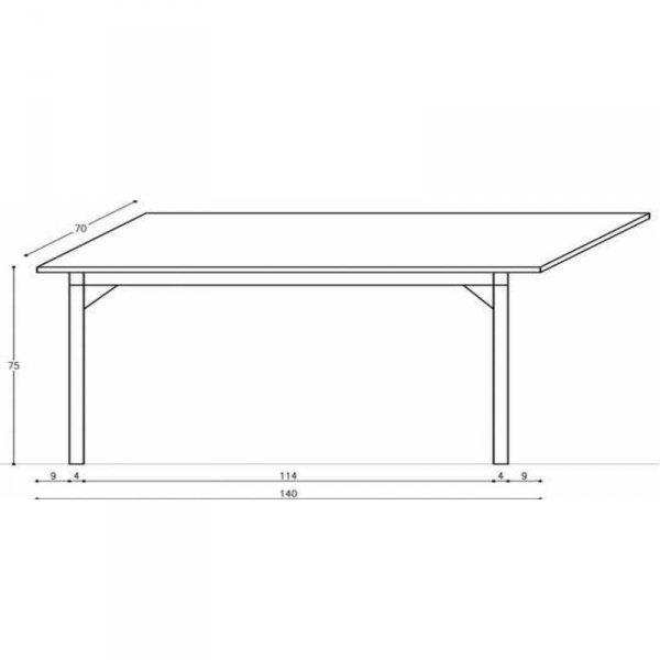 Stół Basic Minko wymiary
