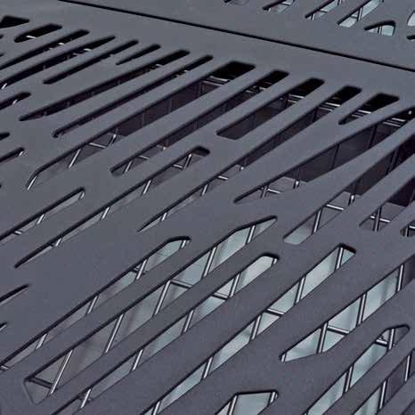 Kratka grillowa ze stali żeliwnej
