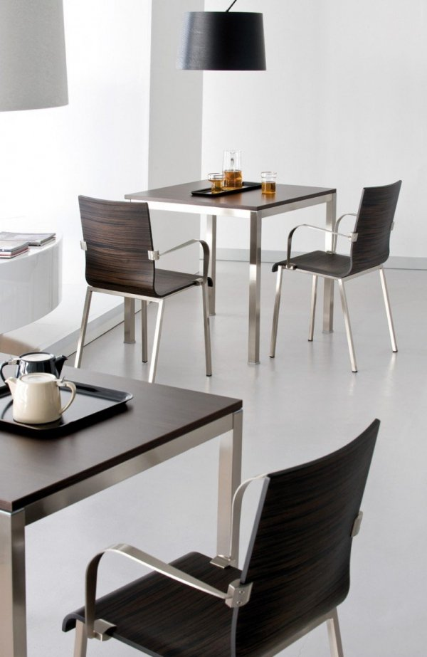 Stół Kwadratowy Kuadro 900x900 Pedrali