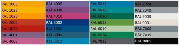 Meble Etro dostępne są w wielu pięnych kolorach