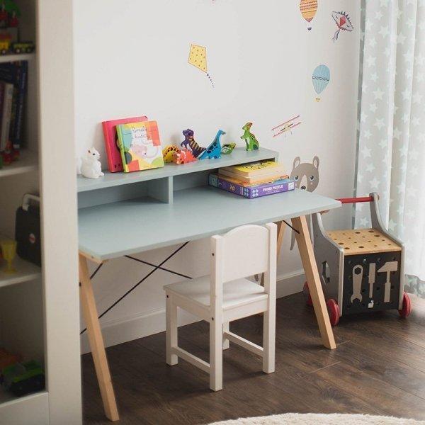 Biurko dziecięce Kids Slim + będzie idealnym meblem w każdym wnętrzu