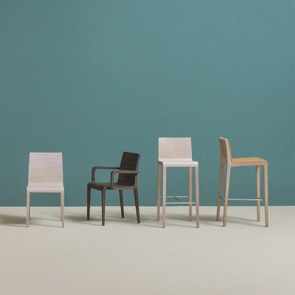 Designerskie krzesła z rodziny Young Pedrali