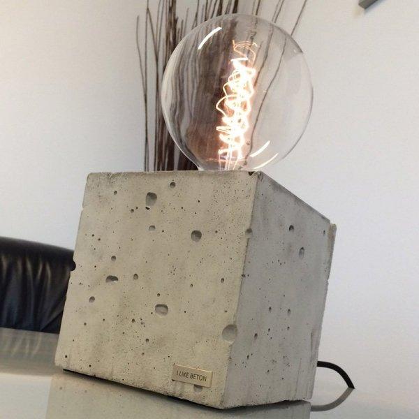 Lampa Edison Cube jest idealna do wnętrz w stylu industrialnym