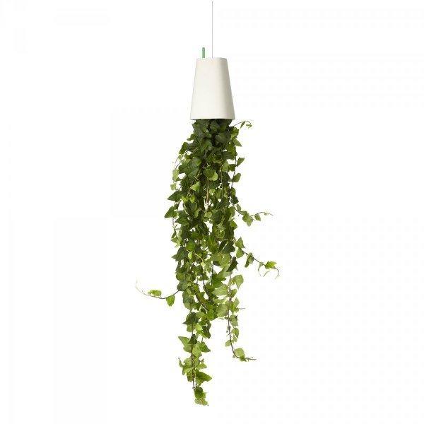 Boskke Sky Planter wisząca doniczka Recycled Medium biała