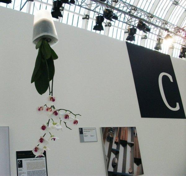 Boskke Sky Planter doniczka wisząca Recycled Small Transparentna