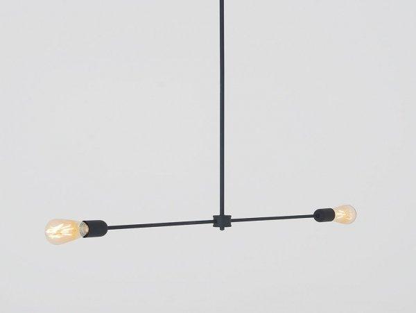 Lampa wisząca TRISO 2 – czarny