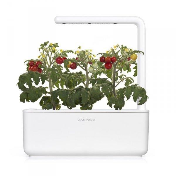 Kapsułki roślinne Click and Grow pasują do każdej doniczki z serii Click and Grow