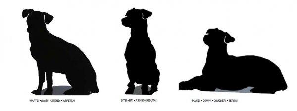 FrauMaier Shape Lampka w kształcie psa