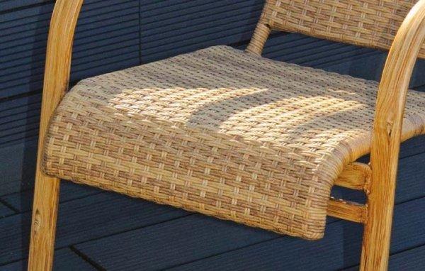 Fotel wiklinowy Brasilia