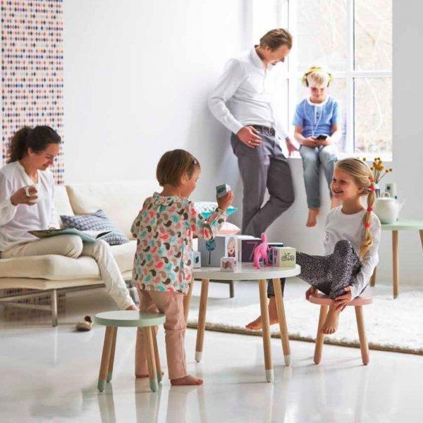 Stołek dziecięcy Flexa Play biały