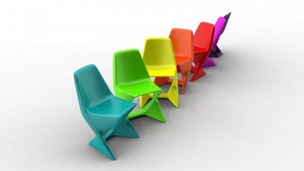 Iso Krzesło Ogrodowe Qui Est Paul?