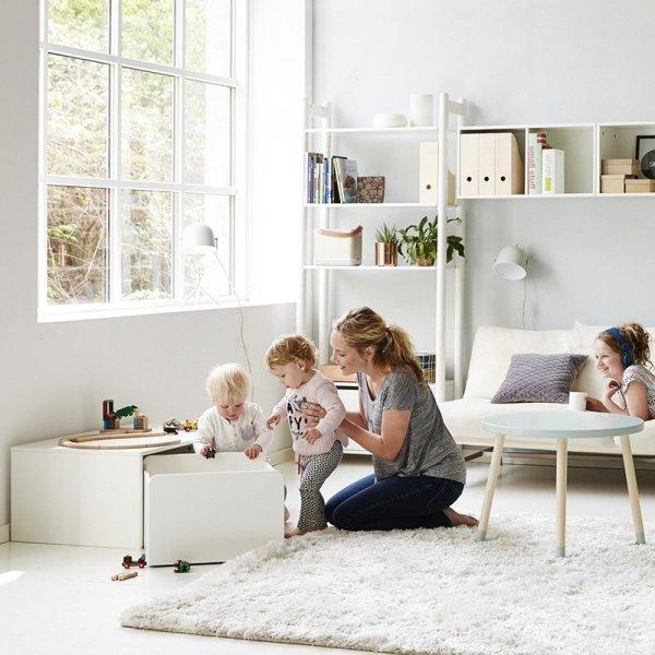 Designerskie meble do pokoju dziecięcego w stylu retro marki Flexa