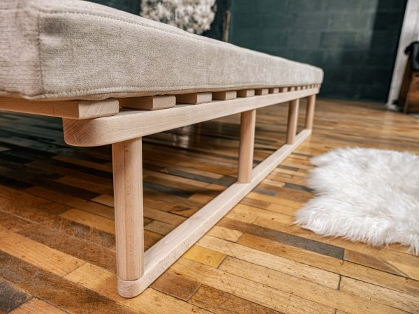 Le MAR Sofa rozkładana - surowe drewno Woodman