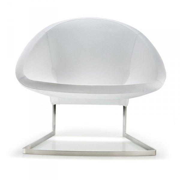 Skórzany fotel do stylowych wnętrz Pedrali Joker 417