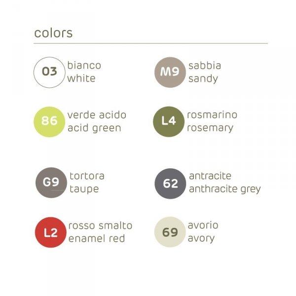 Doniczka balkonowa UP kolory
