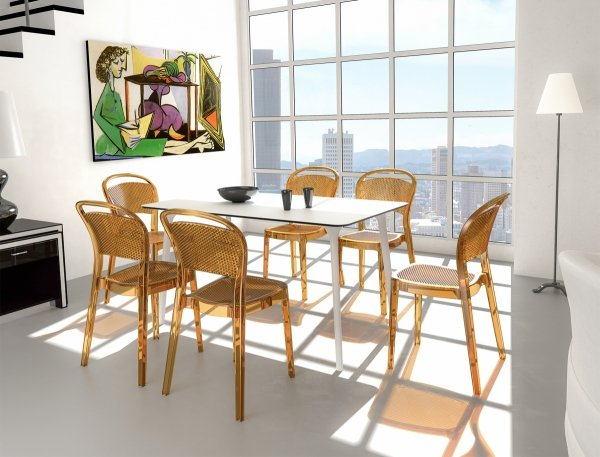 Stół Maya 140 Siesta i krzesła Bee