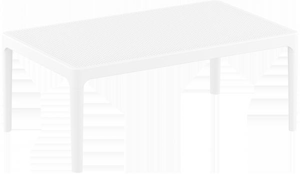 Stolik SKY Lounge Siesta z tworzywa biały