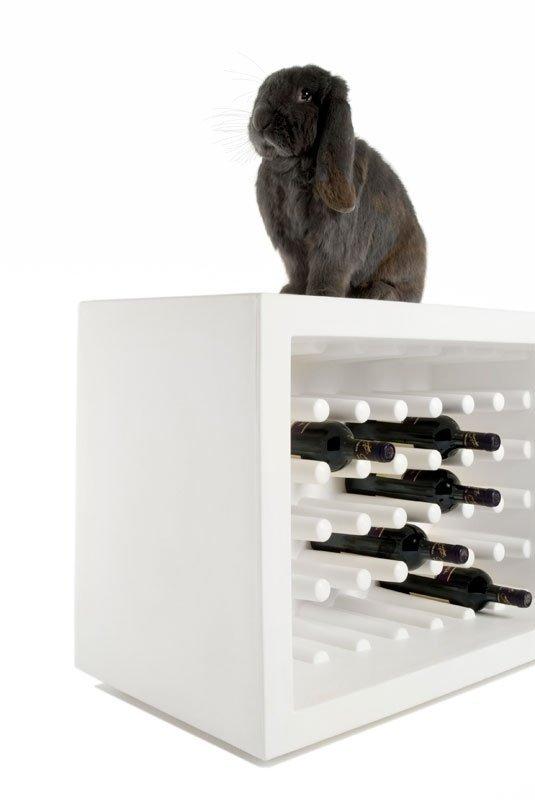 Bachus stojak na wino Slide