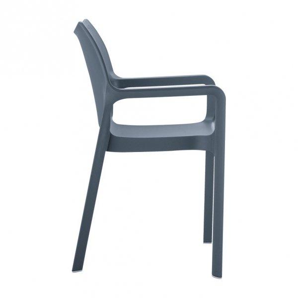 Diva nowoczesny fotel ogrodowy Siesta