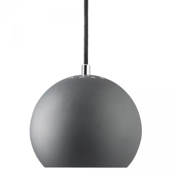 lampa wisząca bll 18cm ciemnoszara