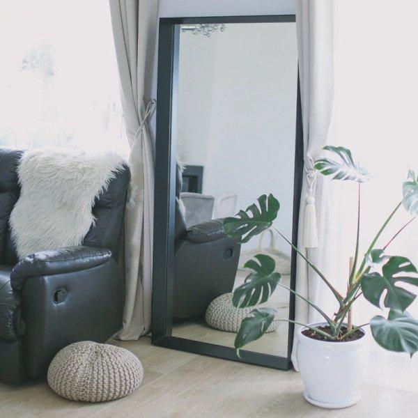 Stylowe lustro Woodie ręcznie wykonane doda stylu każdemu wnętrzu