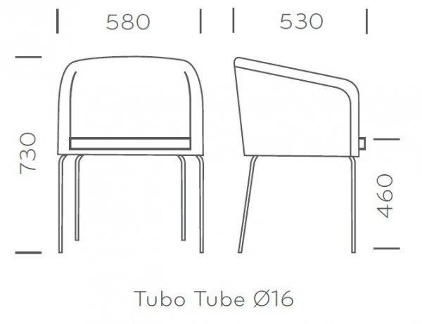 Allure 738 Fotel Pedrali