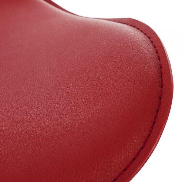 Hoker tapicerowany Trio czerwony