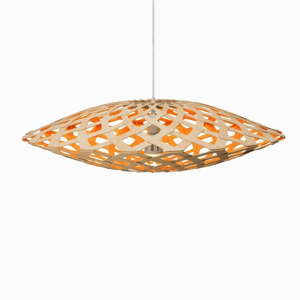 Lampa wisząca z naturalnego drewna Flax Ø 150cm