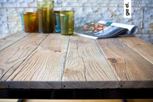 Drewniany Stolik Kawowy 11 Gie El