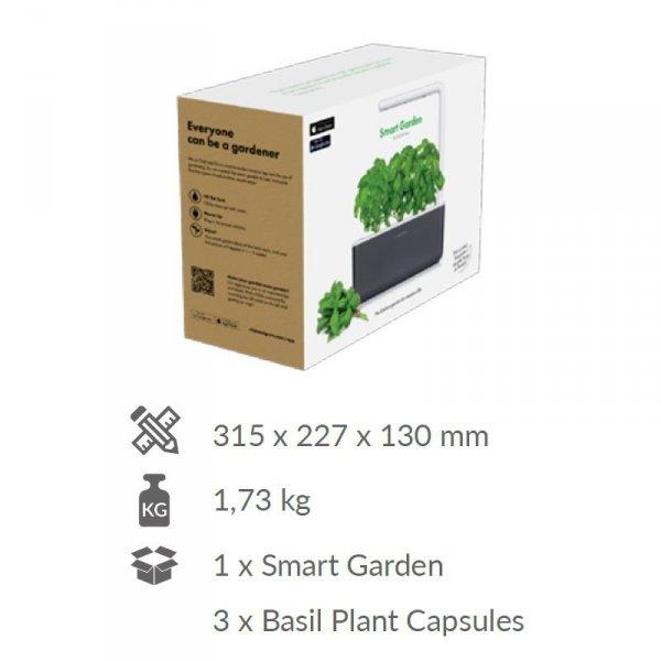 Doniczka Smart Garden 3 zawartość opakowania