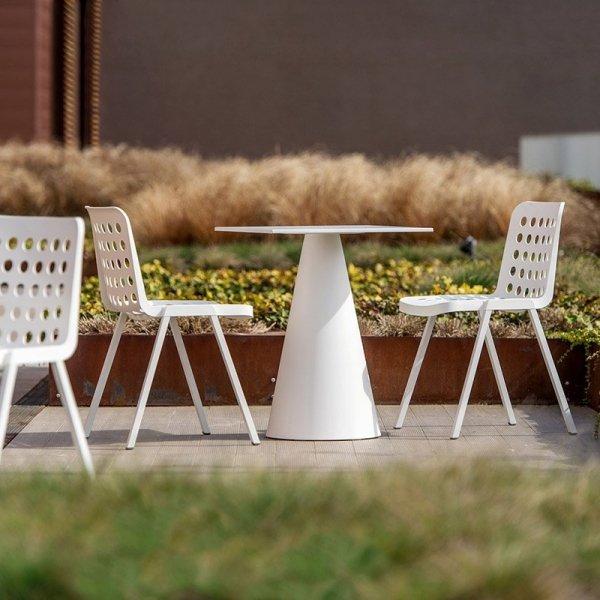 Stylowe krzesła ogrodowe Koi-Booki Pedrali