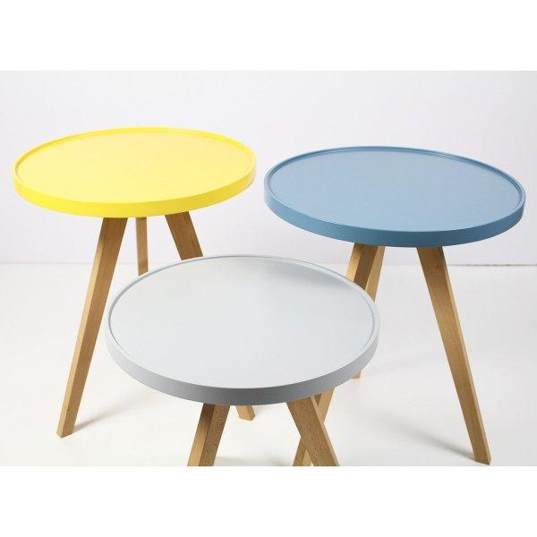 Okrągły stolik 48cm Minko